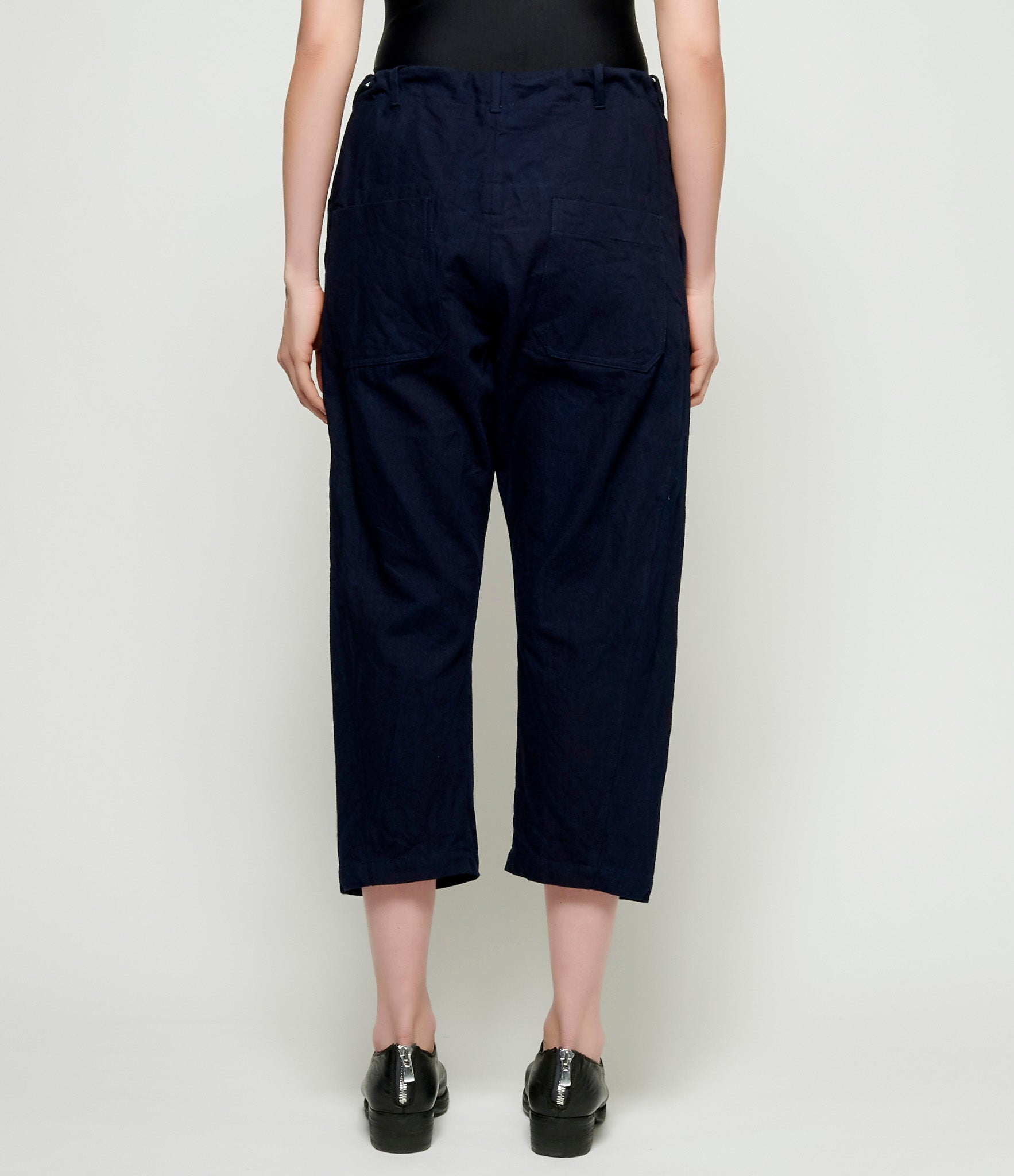 Forme d'Expression Cropped Swag Pants