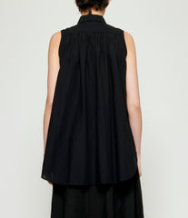 Forme d'Expression Sleeveless Asymmetric Blouse