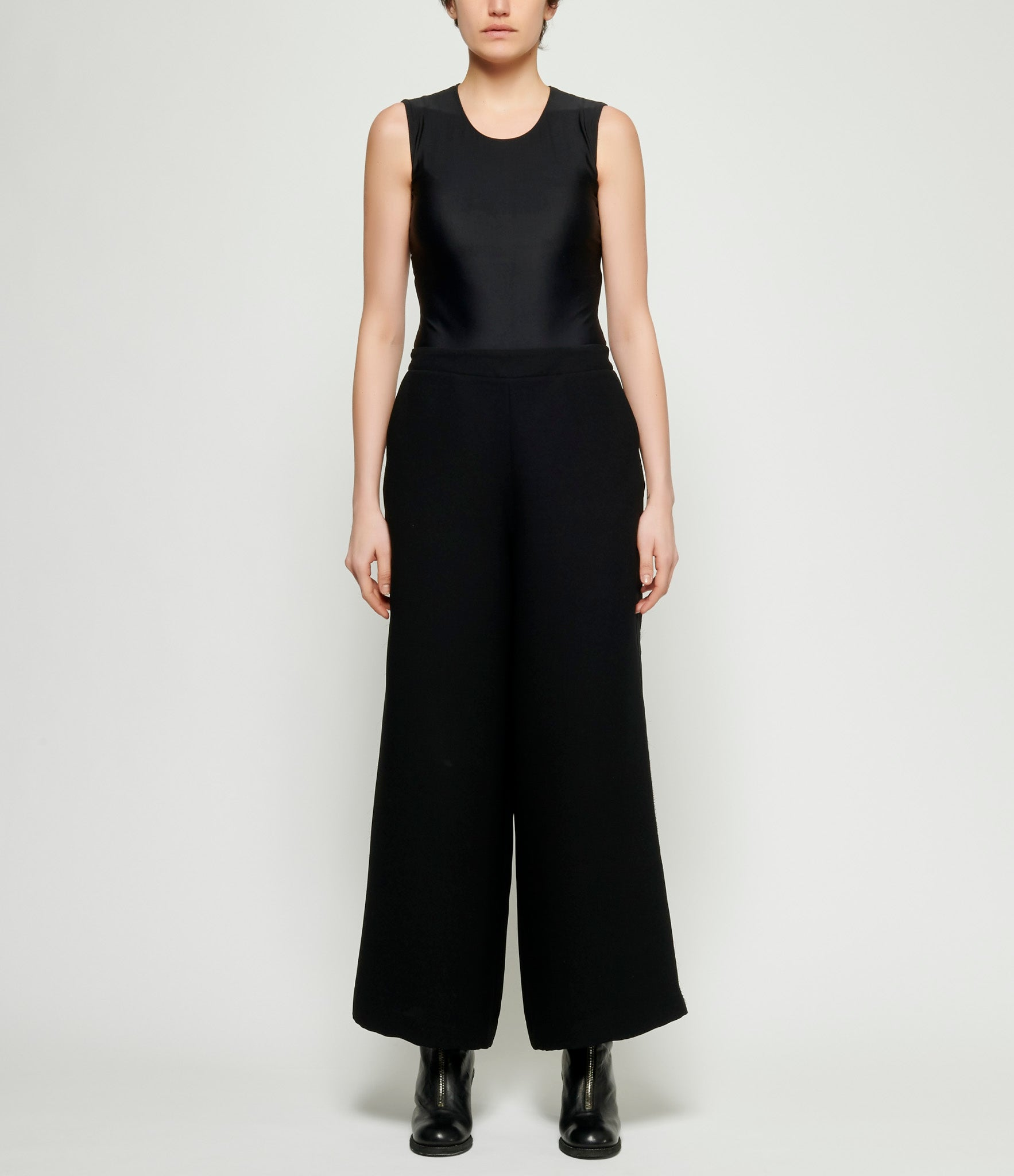 Replika Black High Waisted Pant