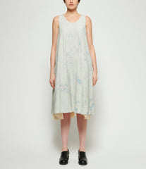 Individual Sentiments Pigment Hand Dyed Cotton Linen Dress