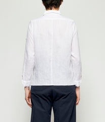 Individual Sentiments Thin Linen Cloth Shirt