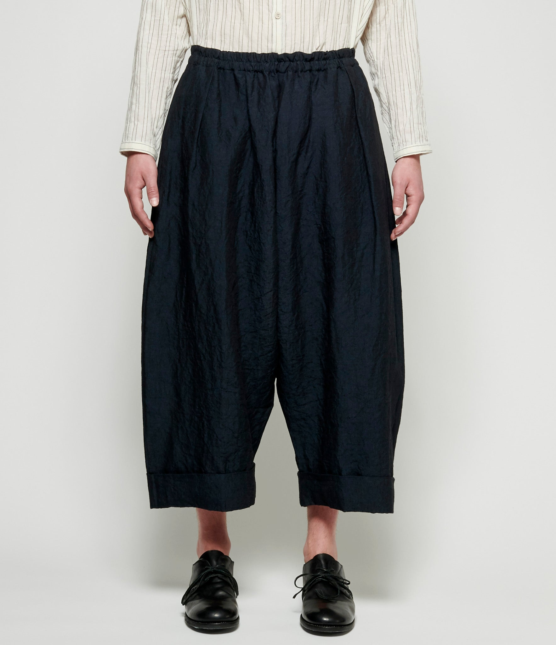 Toogood Laundered Linen Baker Trouser