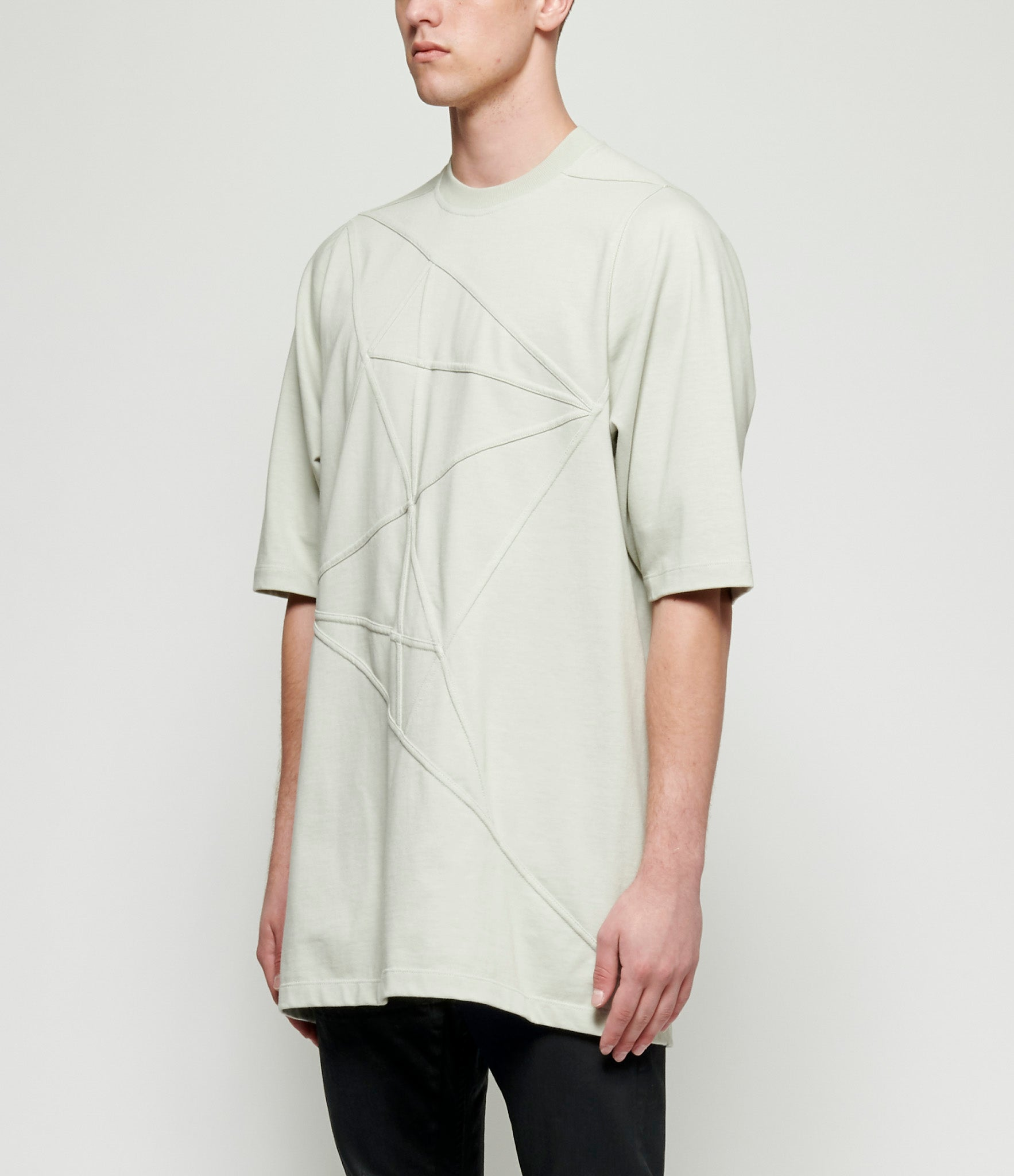 Rick Owens Embroidered Short Sleeve Crewneck