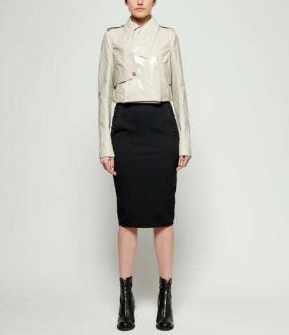 Rick Owens Short Trench Jacket