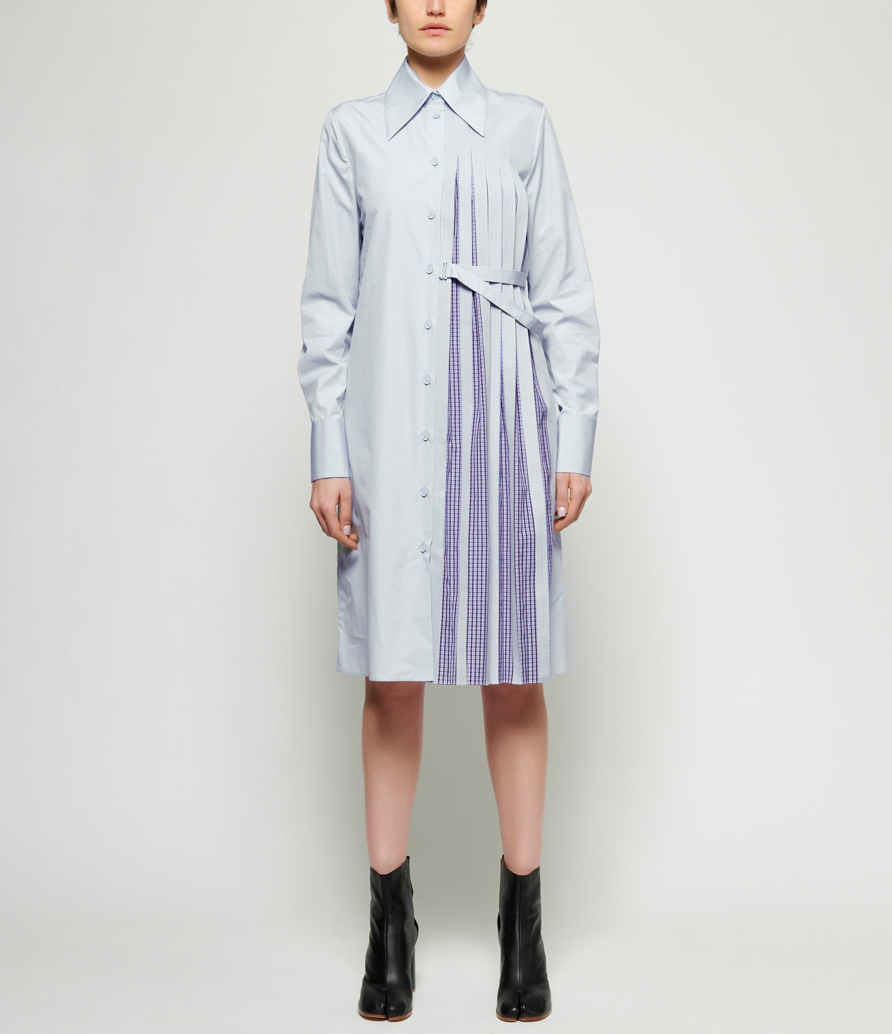 Maison Margiela Cotton Poplin Shirt Dress Ifsohonewyork