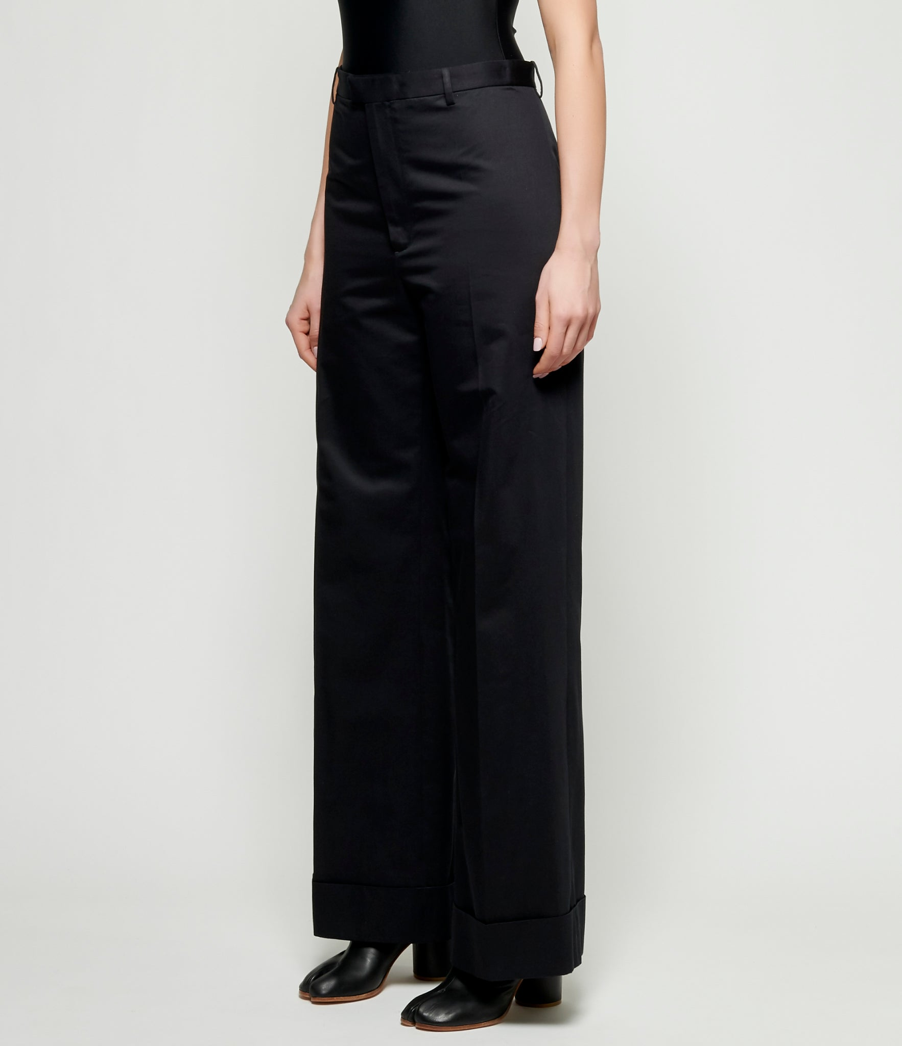 Maison Margiela Fine Cotton Trousers