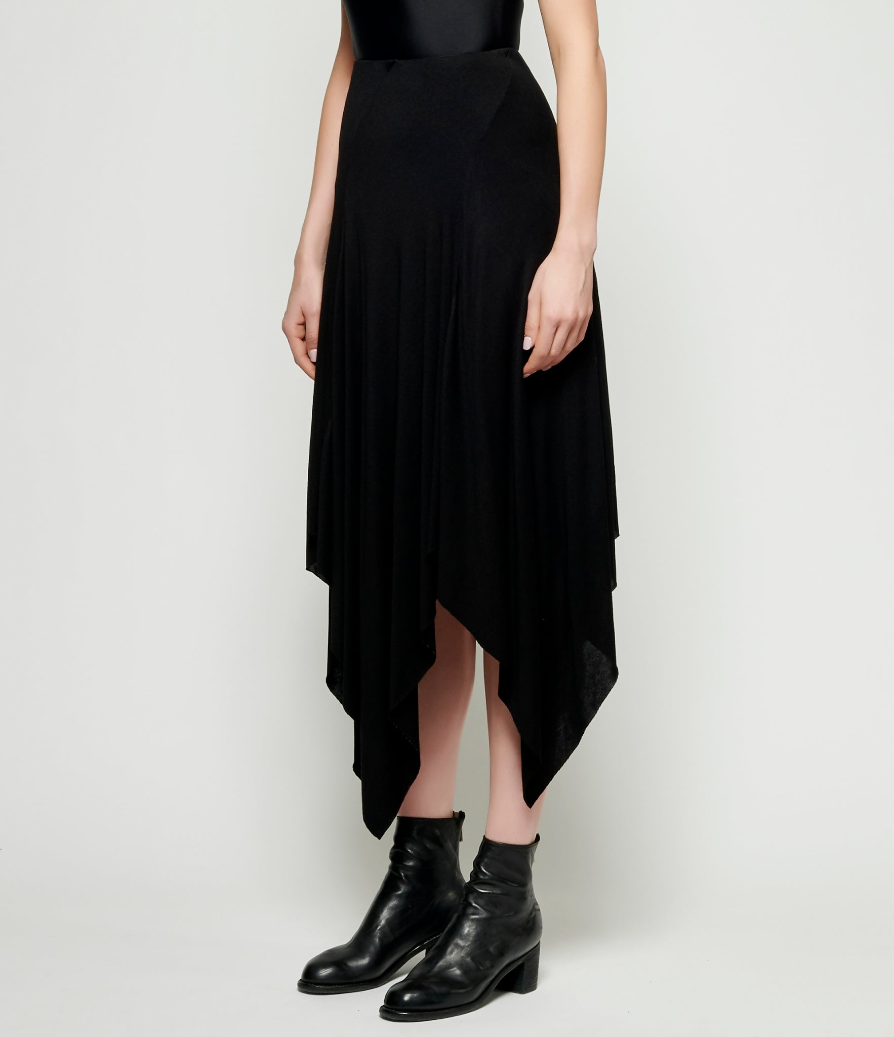 m.a+ Diagonal Zipped Square Skirt