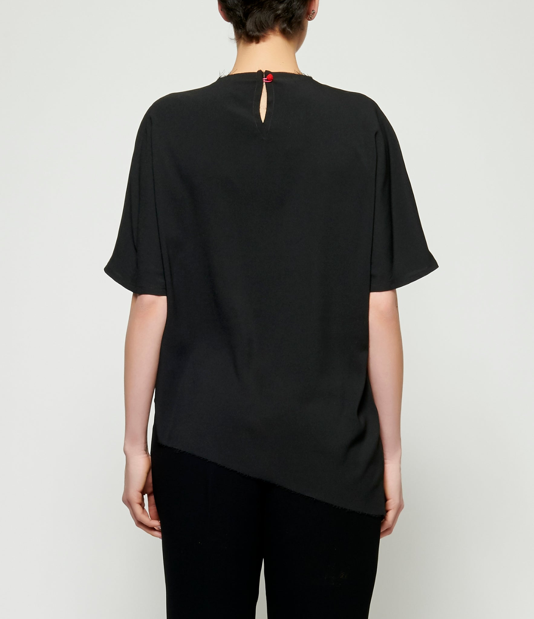 Replika Black Crossover Top