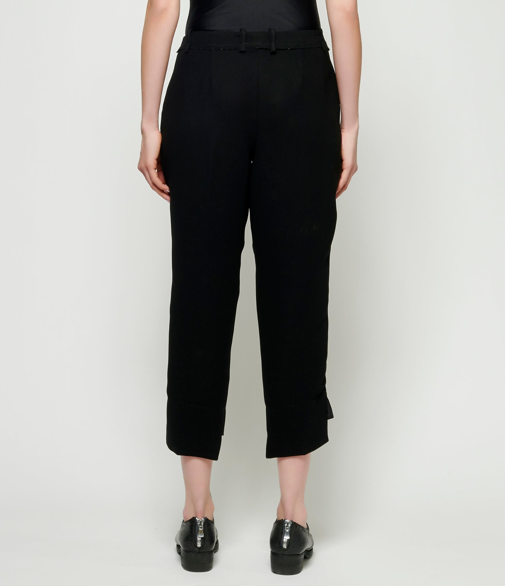 Replika Black Tapered Pant
