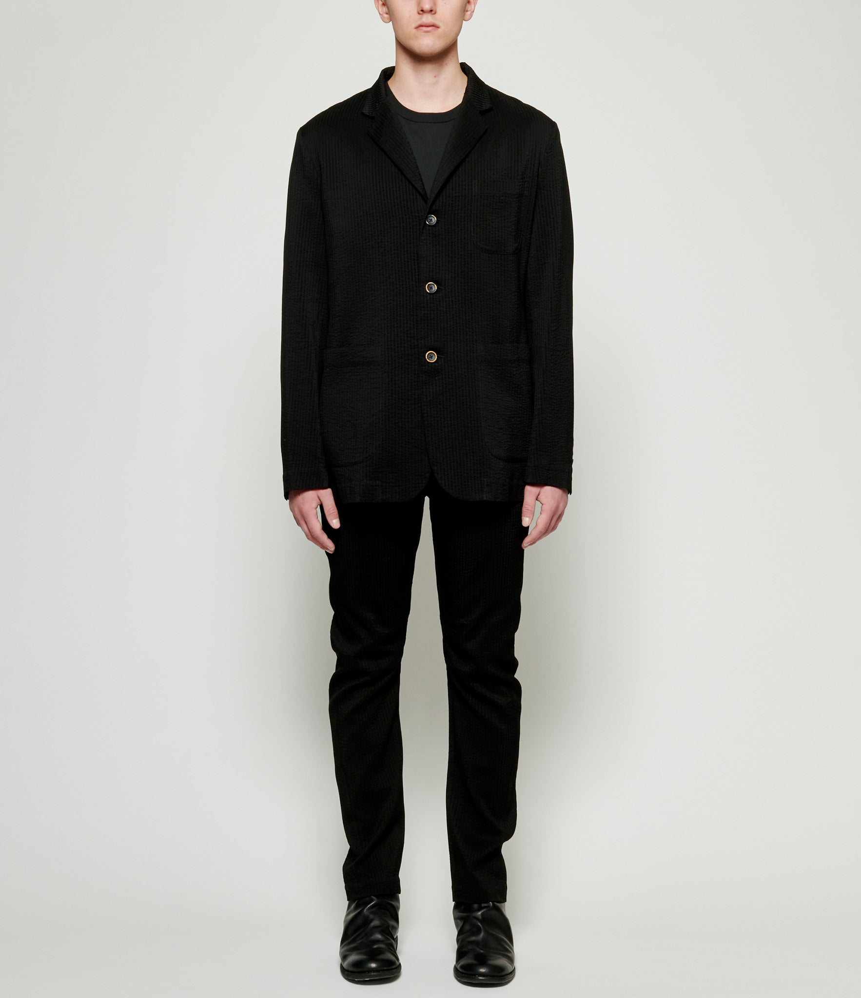 Uma Wang Black Jared Jacket