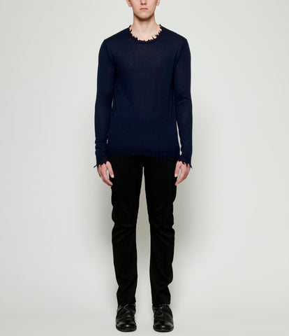 Uma Wang Long Sleeve Knit Top