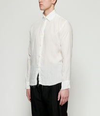 Elena Dawson White Cotton Light Shirt