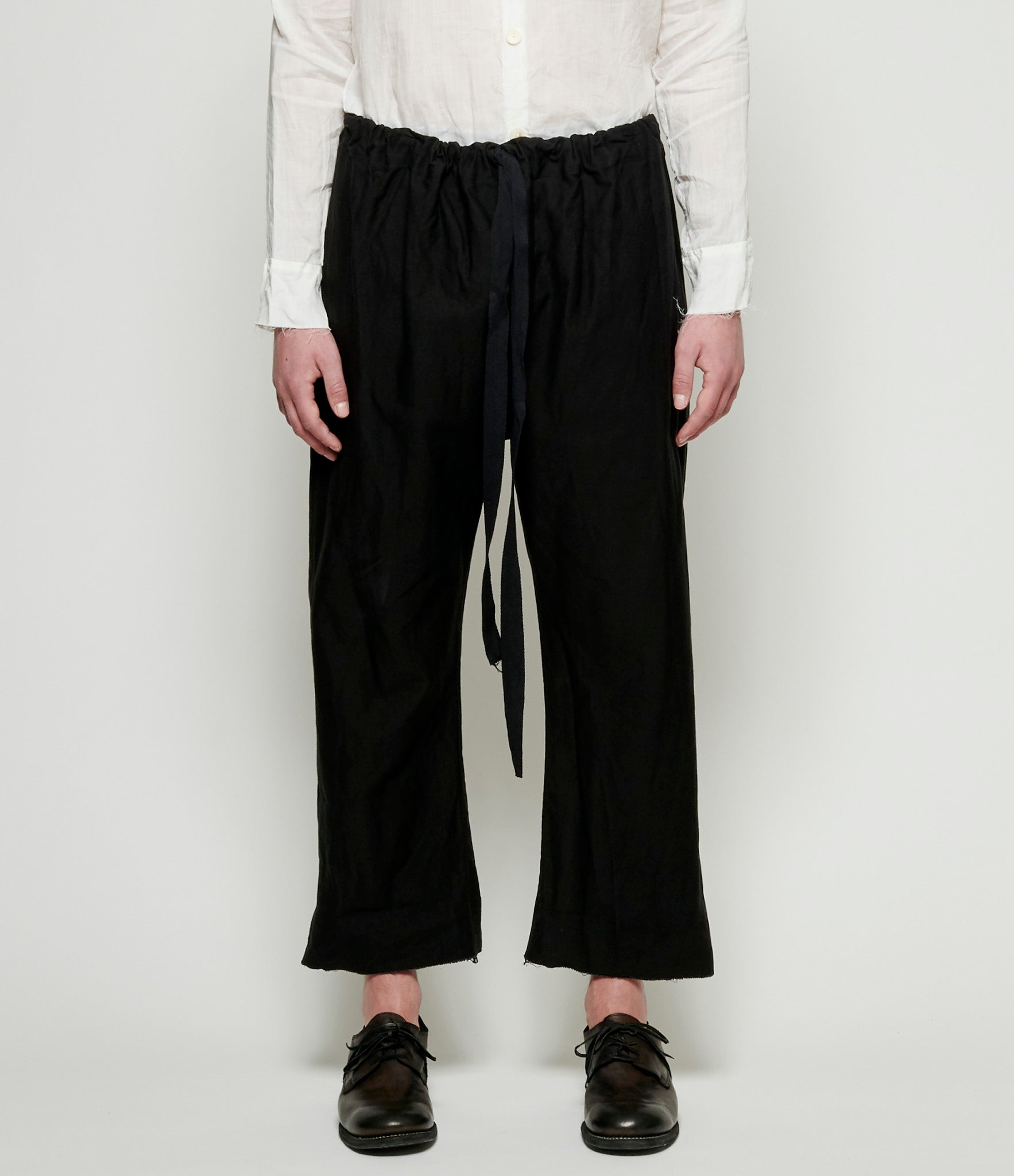 Elena Dawson Cotton Drill Drawstring Pants