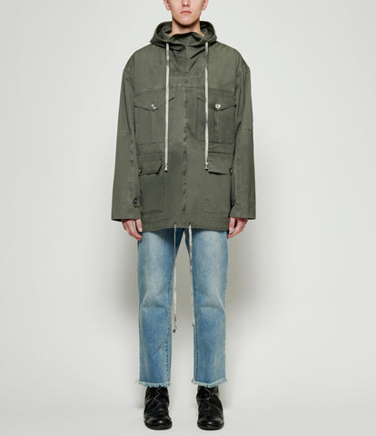 Sagittaire A Oversized Military Field Parka