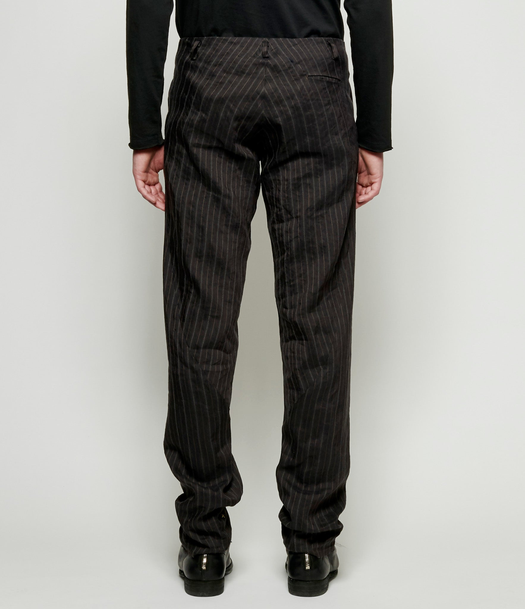 m.a+ Vertical Pocket Linen Herringbone Twill Easy Fit Pants