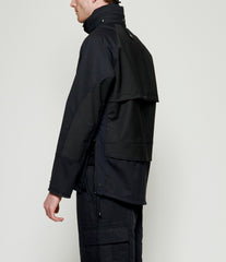 Junya Watanabe Water Repellent Laminated Wool Polyester Cloth Jacket