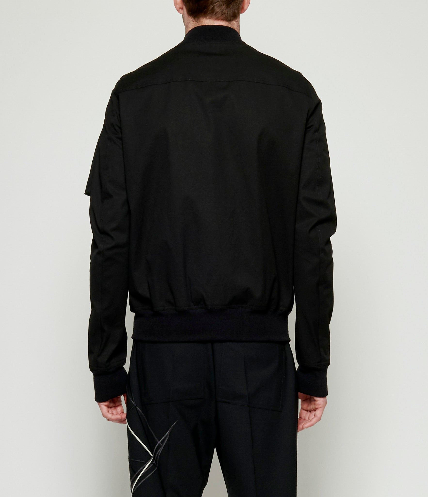 Rick Owens Embroidered Woven Flight Bomber