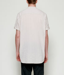 'T Ensemble Oversized Short Sleeve Mandarin Shirt