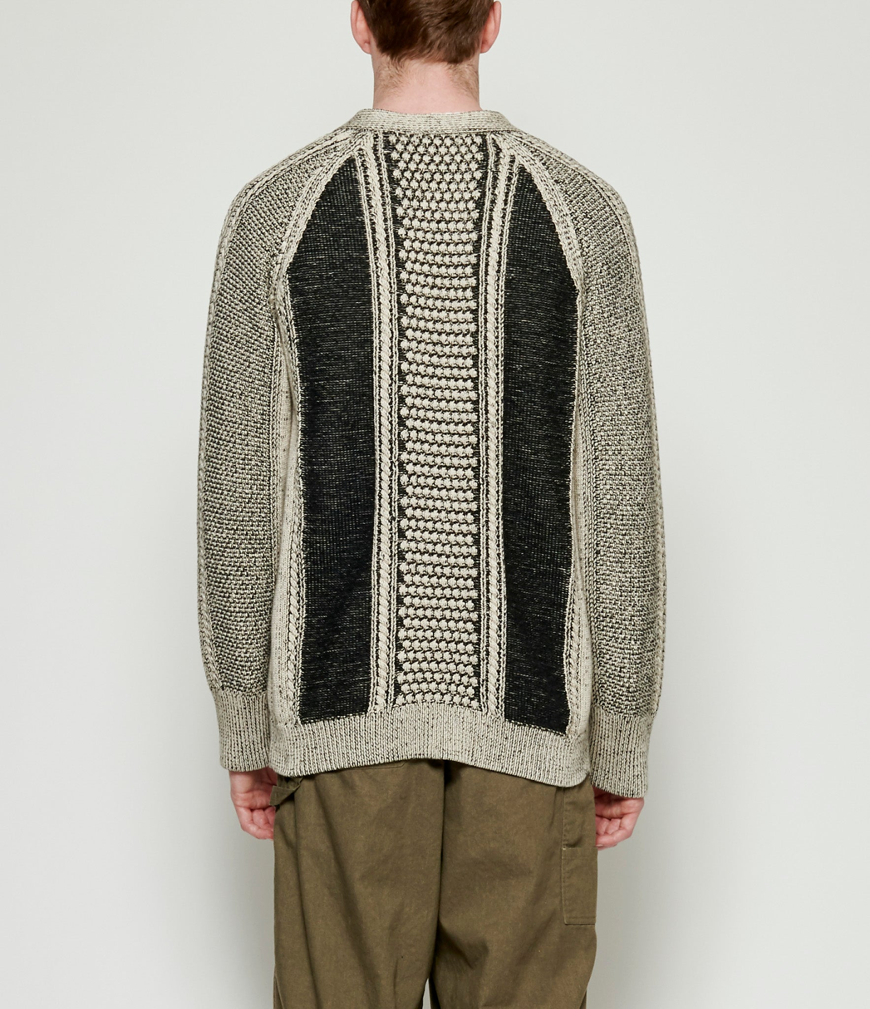 'T Ensemble Plaited Textured Cardigan