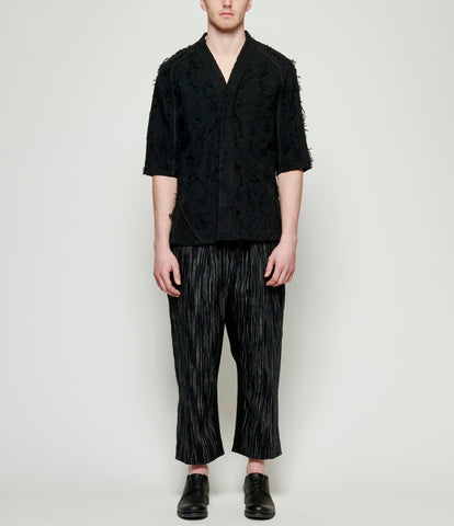 Abasi Rosborough Black Fray Arc Desert Shirt