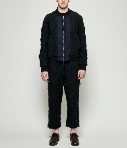 Abasi Rosborough Arc Flight Bomber Jacket