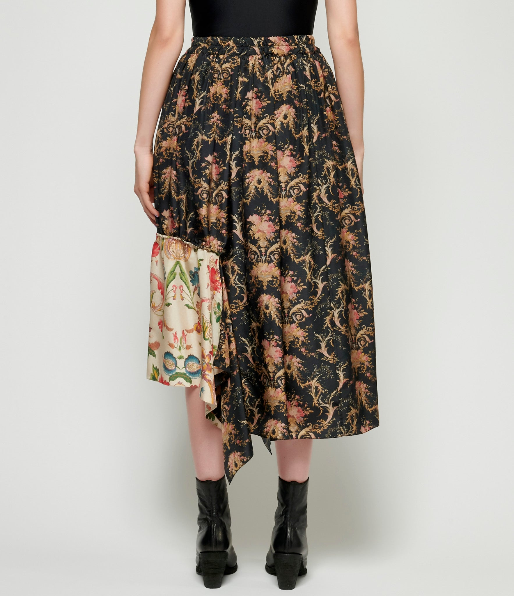 By Walid Mixed Frida Skirt