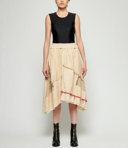 By Walid Solange Skirt