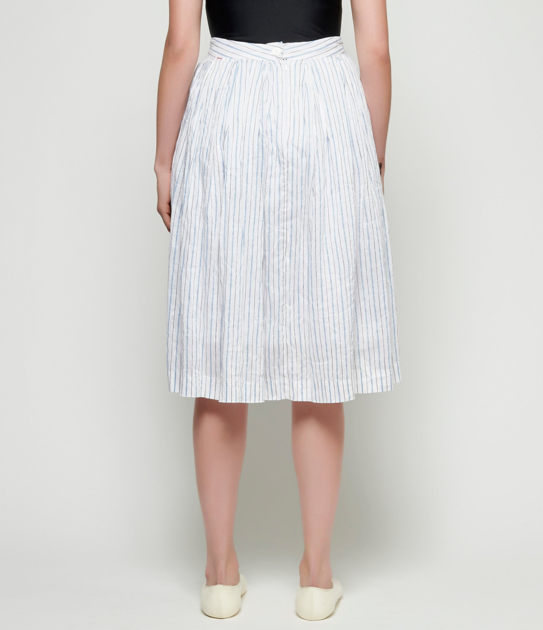 Casey Casey LC Stripe Double Rideaux Skirt