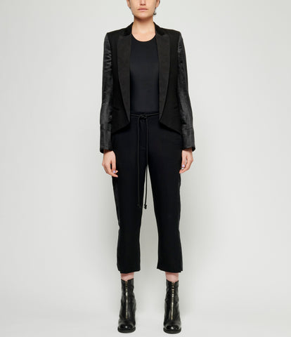 Ann Demeulemeester Light Brushed Black + Frida Black + Isadora Black + Subtle Black Jacket