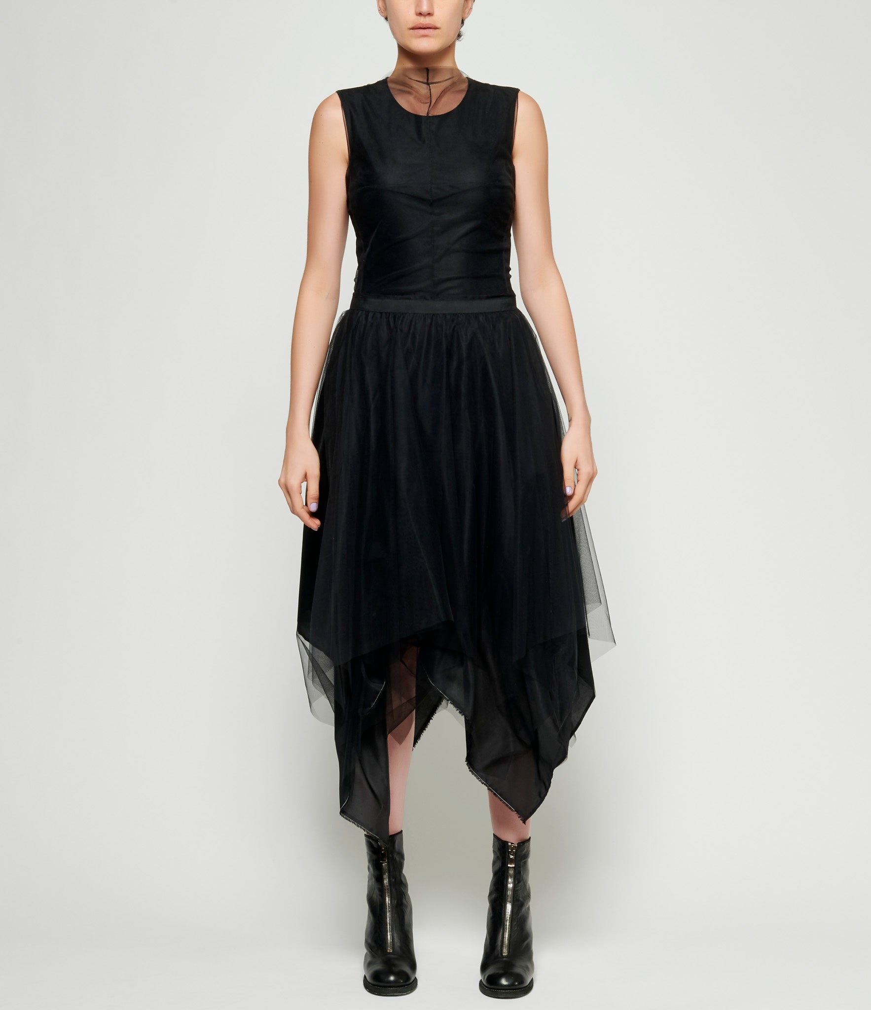 Marc Le Bihan Classic Alternating 3 Layered Tulle Skirt