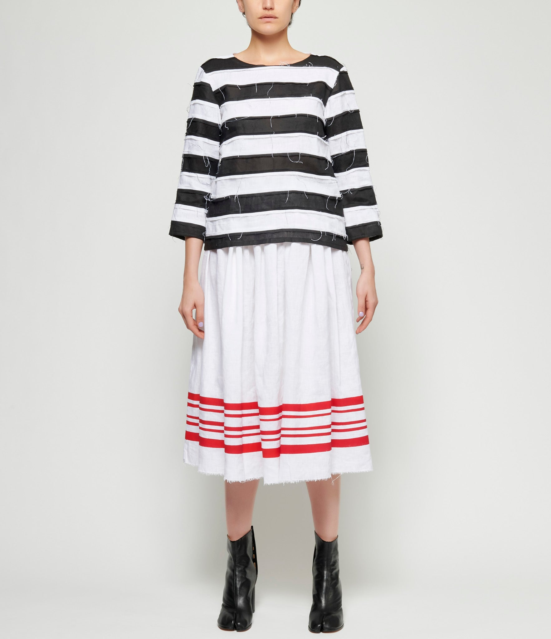 Maria Turri Striped Top