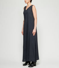 Sartorial Monk Linen Wrap Dress