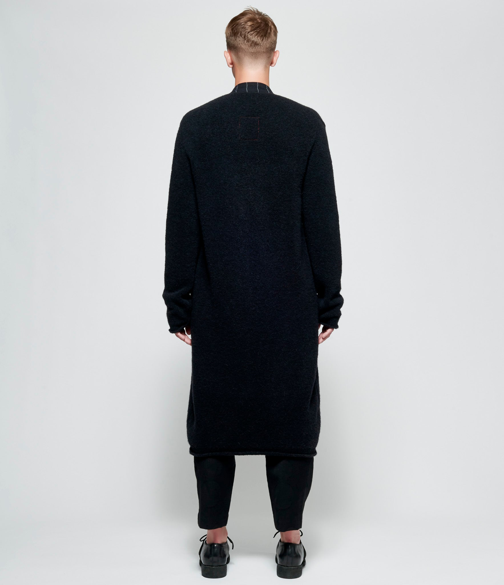 Uma Wang Long Sleeve Knit Coat