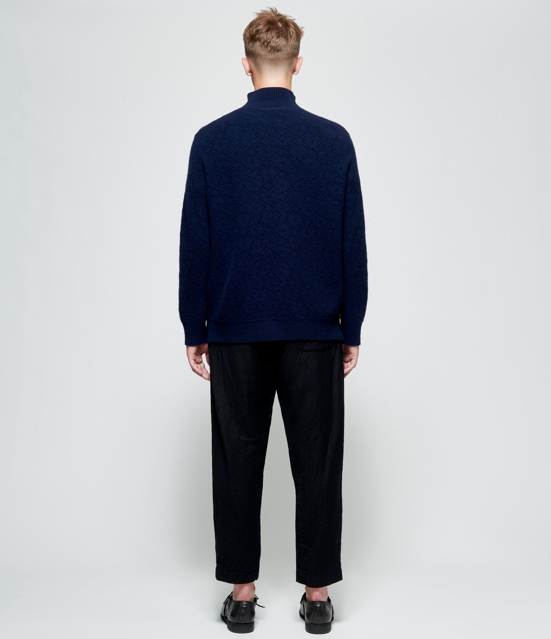 Casey Casey Wool Knit Turtleneck Pullover Sweater