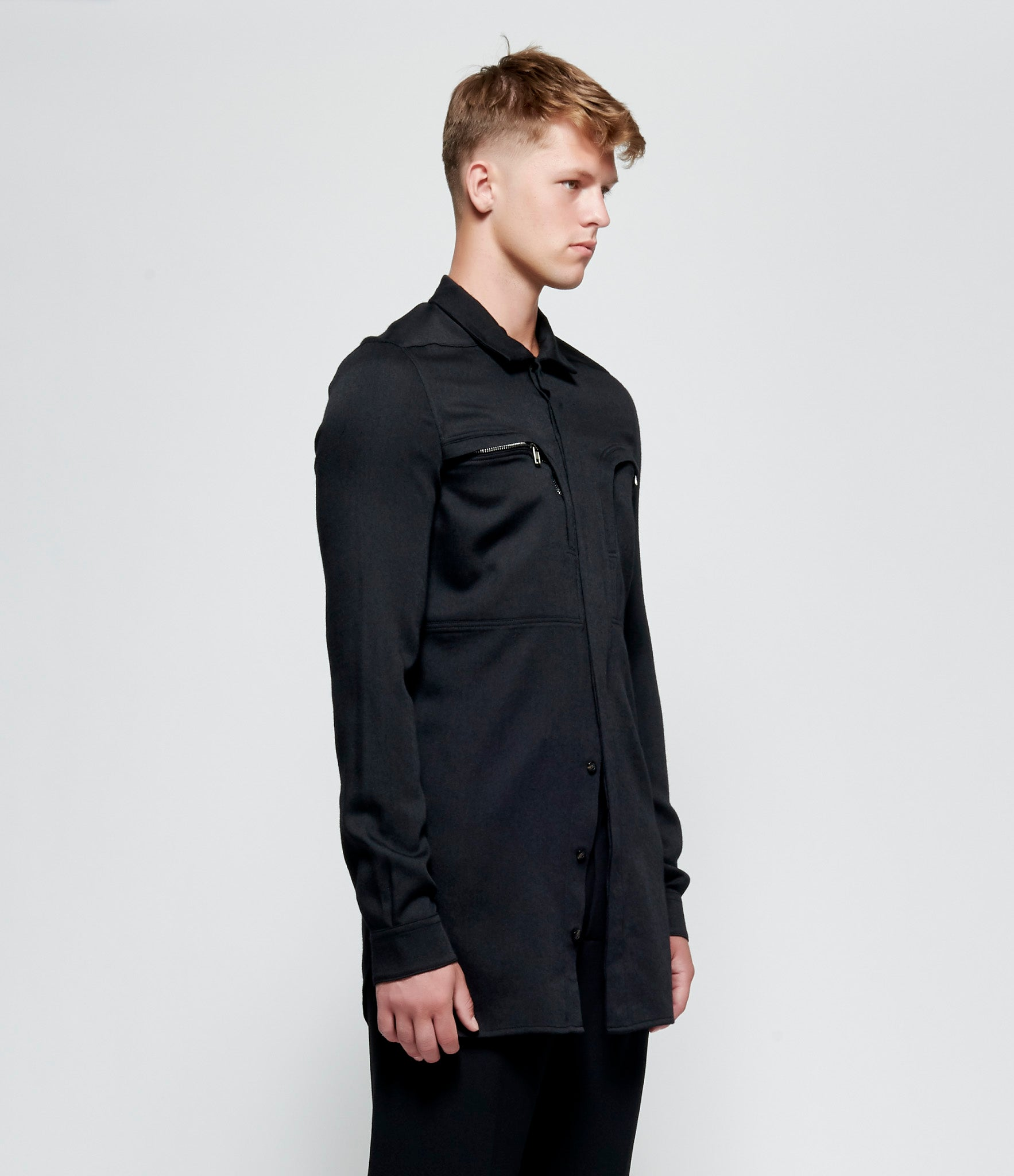 Rick Owens Soft Wool Office Shirt