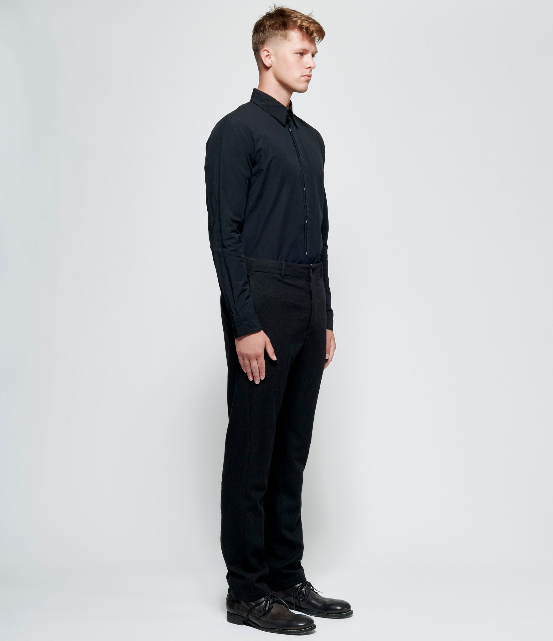 Forme d'Expression Wool New Contoured Pants