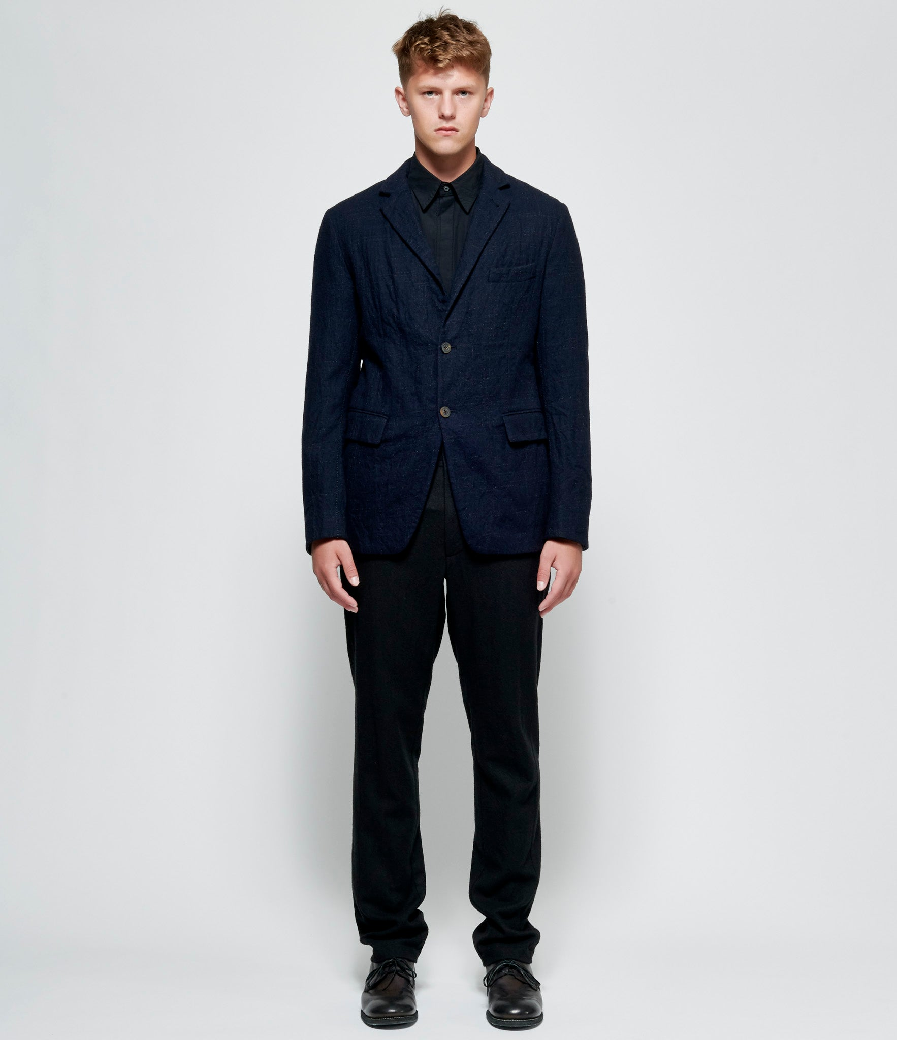 Forme d'Expression Two Button Open Stitched Blazer