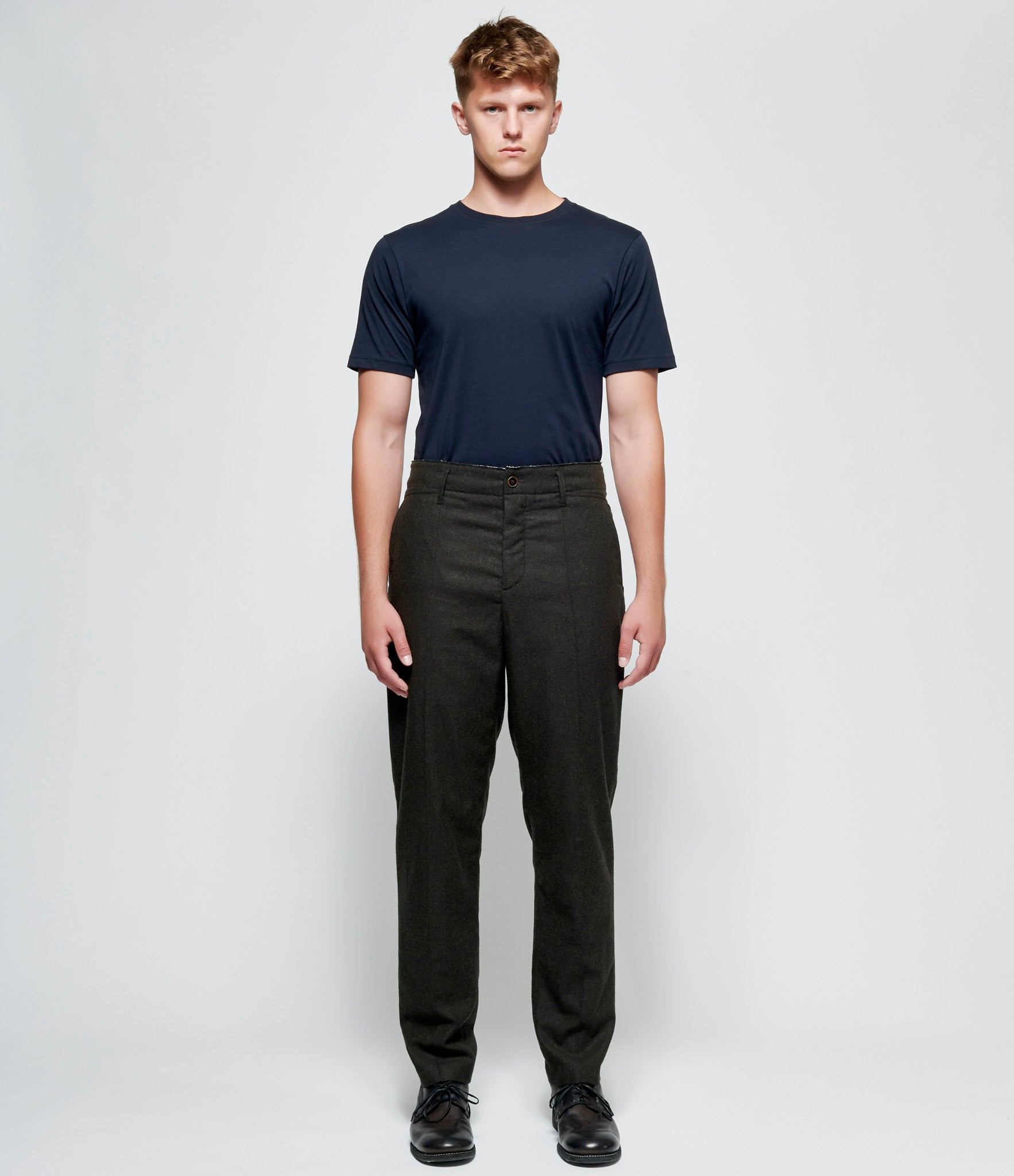 'T Ensemble Easy Fit Pintucked Trouser