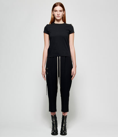 Rick Owens Drawstring Cropped Astaires Pants