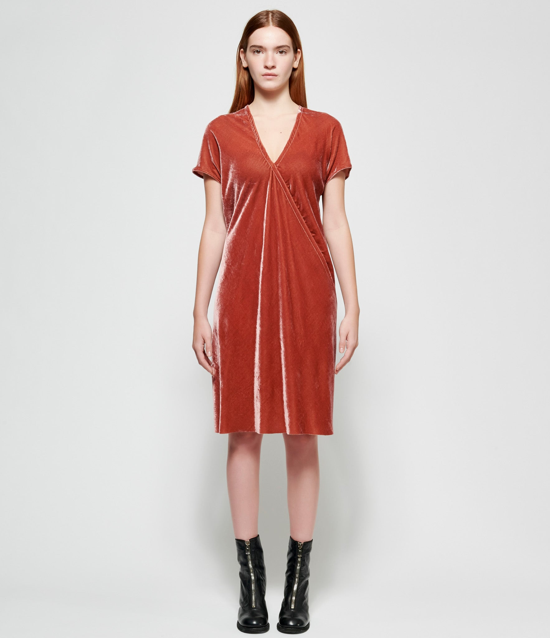 Rick Owens V Draped Tunic