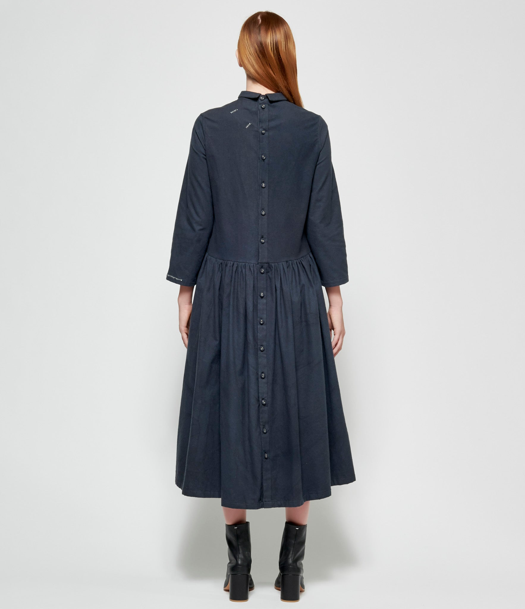 Maria Turri Back Buttoned Dress