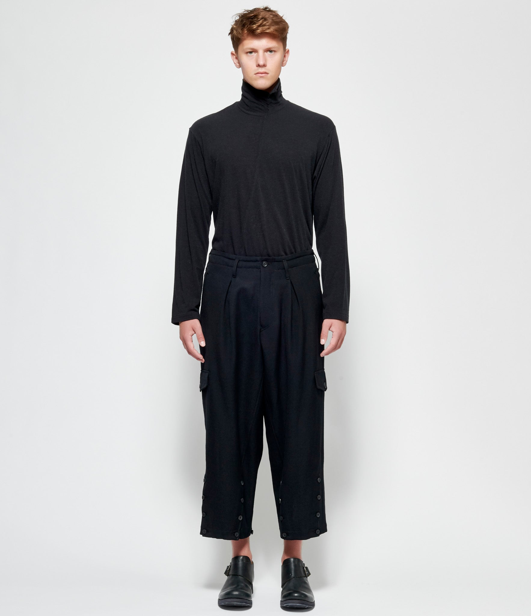 Yohji Yamamoto W-Bottom Adjusted Pants