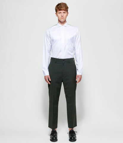 Junya Watanabe Wool Polyester Cloth Trousers