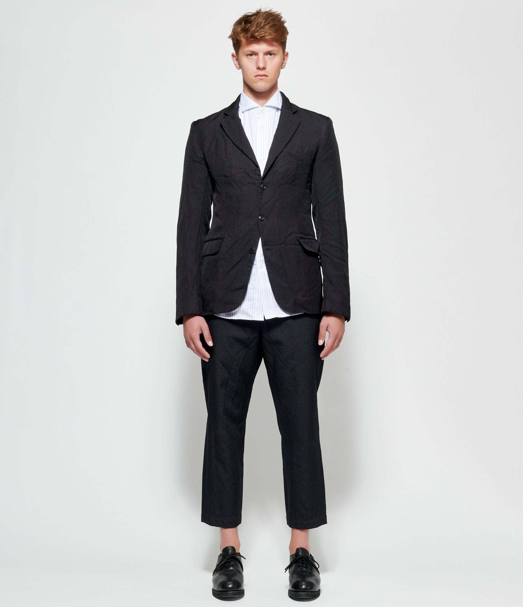 Junya Watanabe Garment Milled Polyester Twill Jacket
