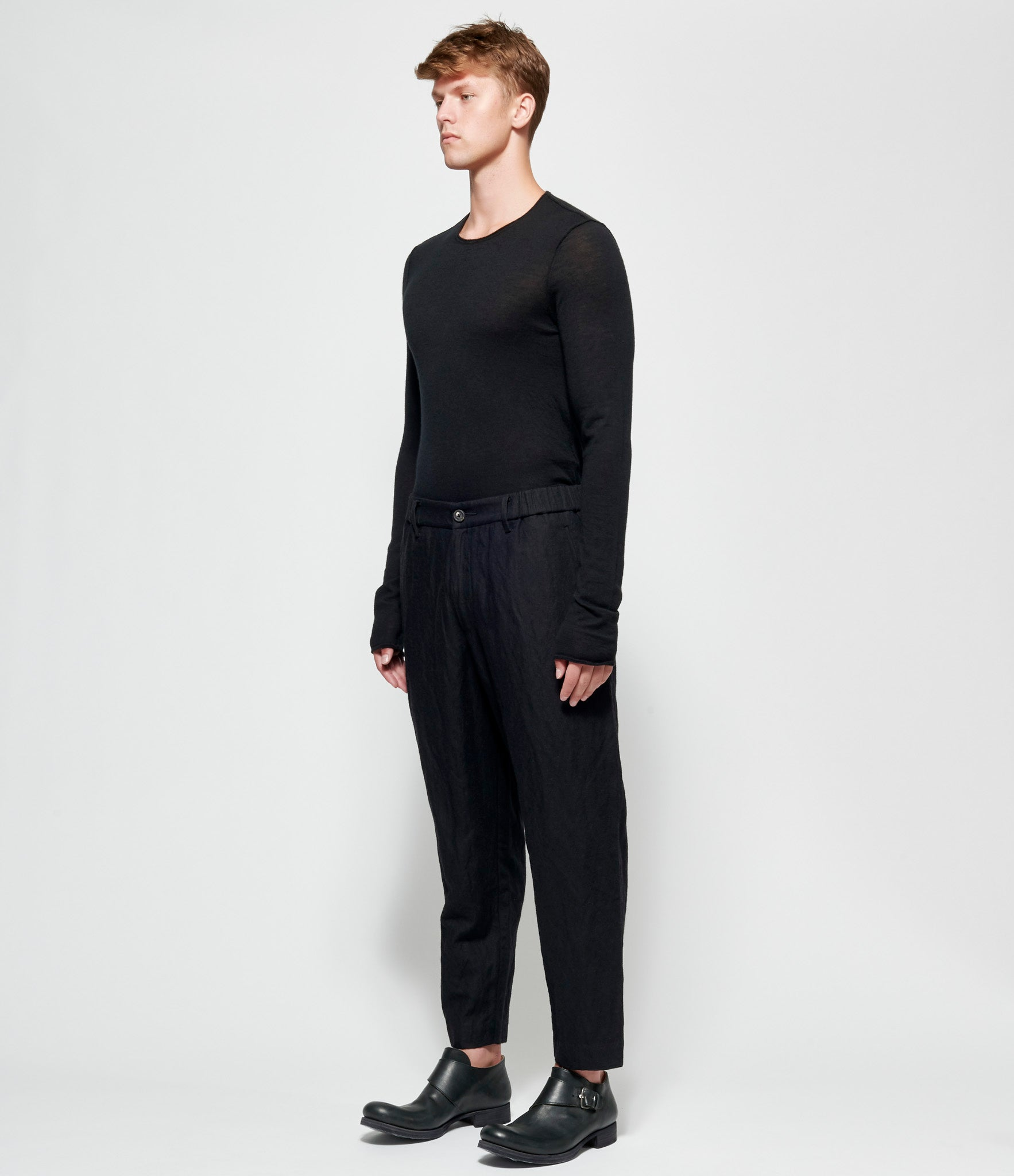 Ziggy Chen Cropped Wide Pants