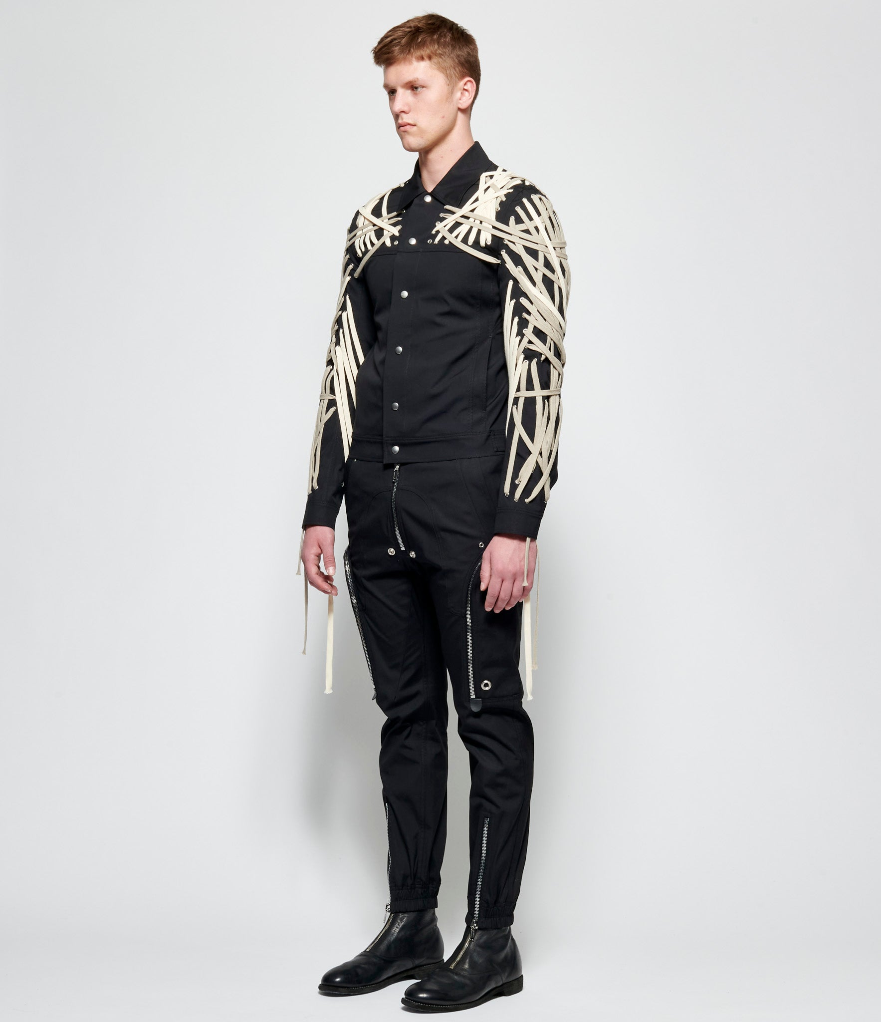 Rick Owens Megalaced Worker Jacket