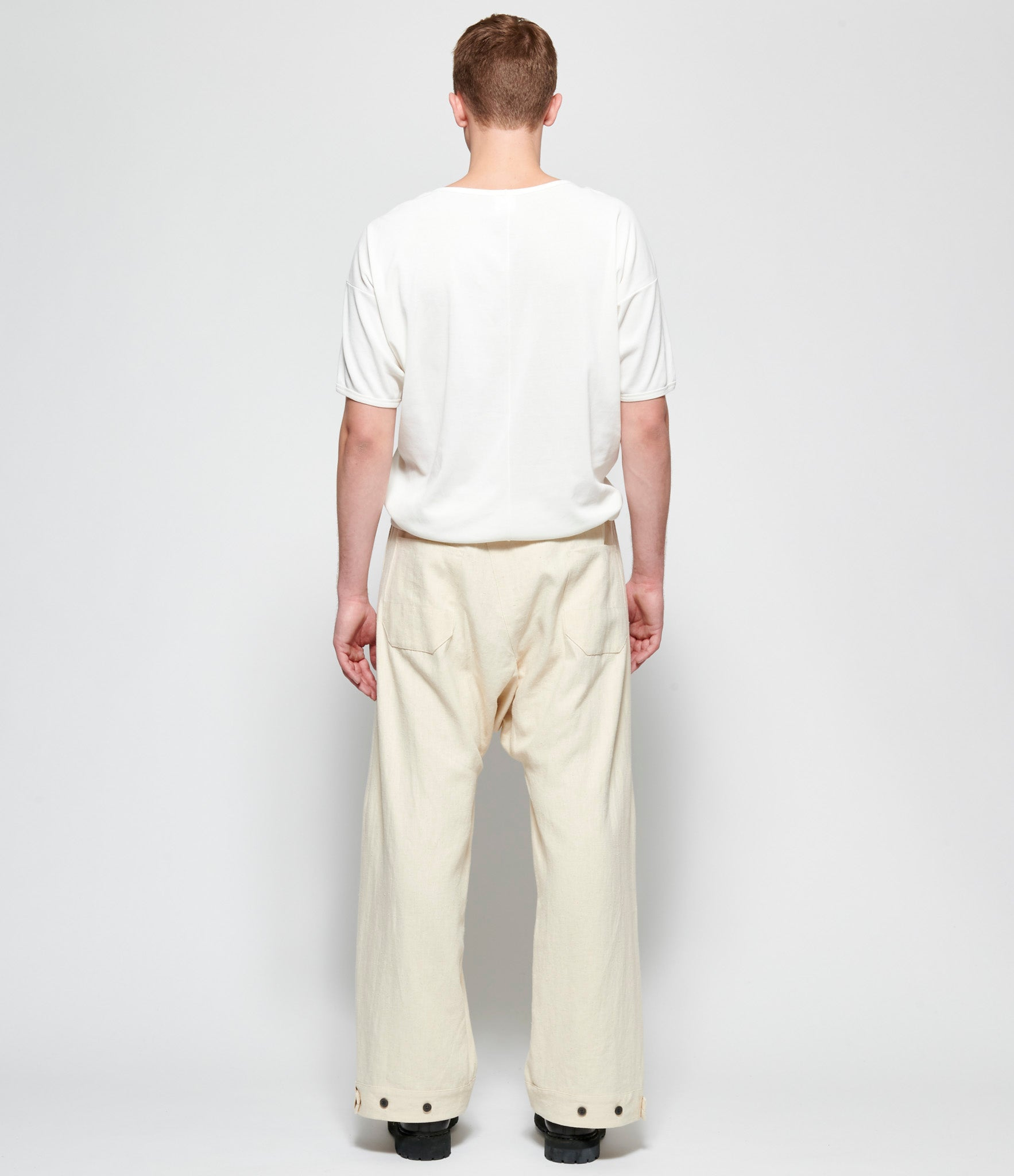 Jan Jan Van Essche Kinari Hemp Cloth Trousers