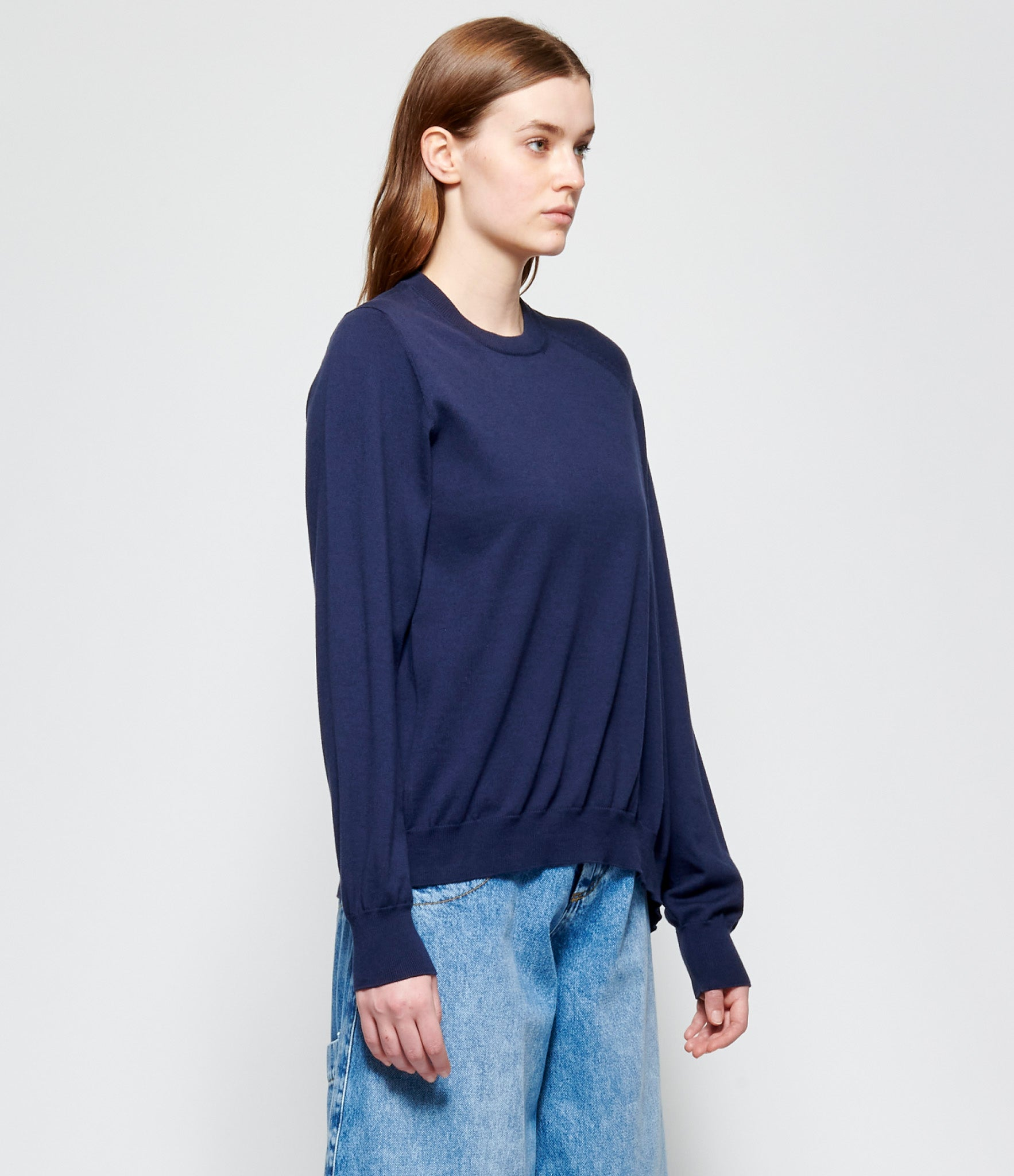 Maison Margiela New Distorted Cotton Cashmere Sweater