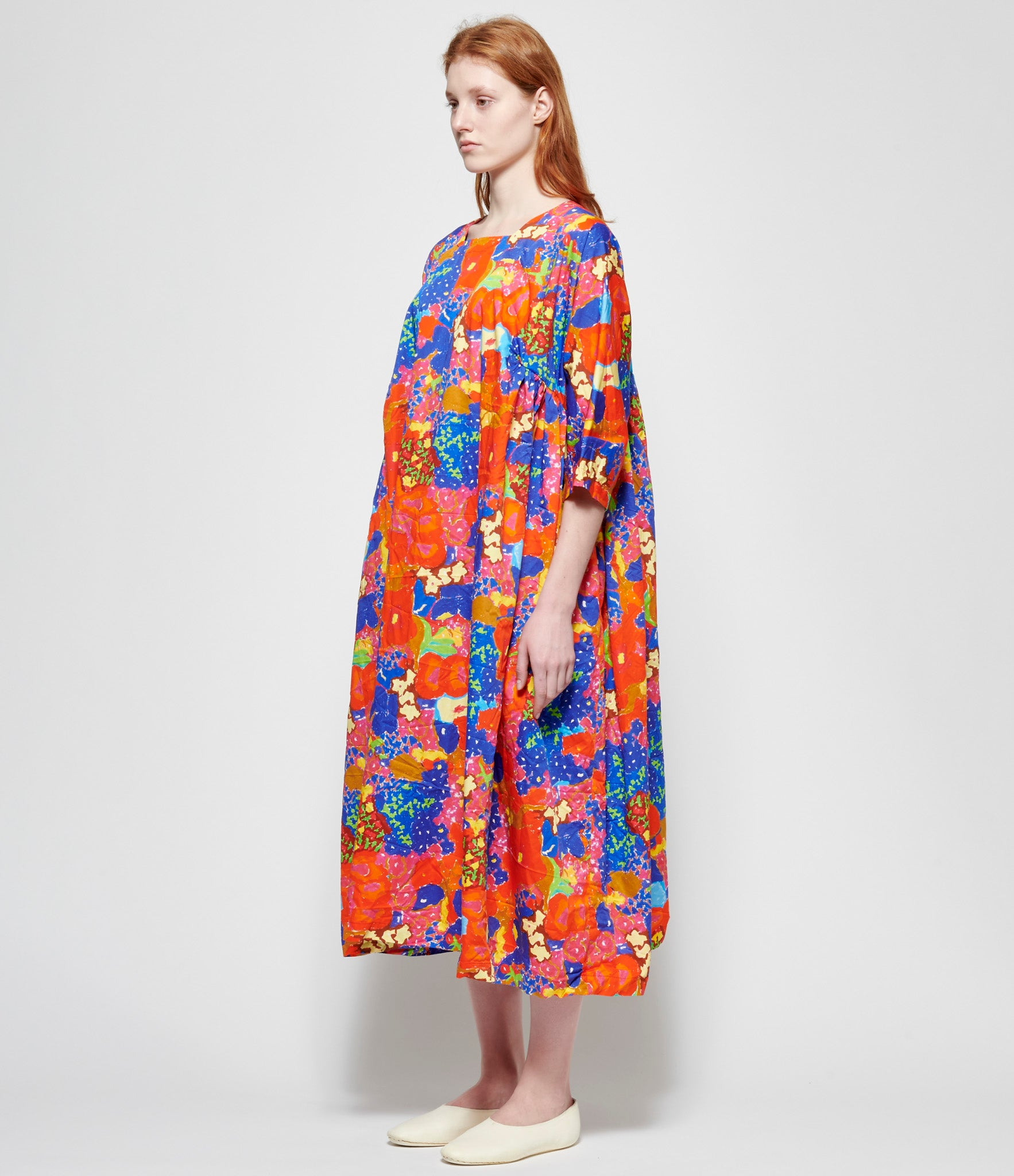 Daniela Gregis Millefiori Drawing Newpride Miele Washed Dress