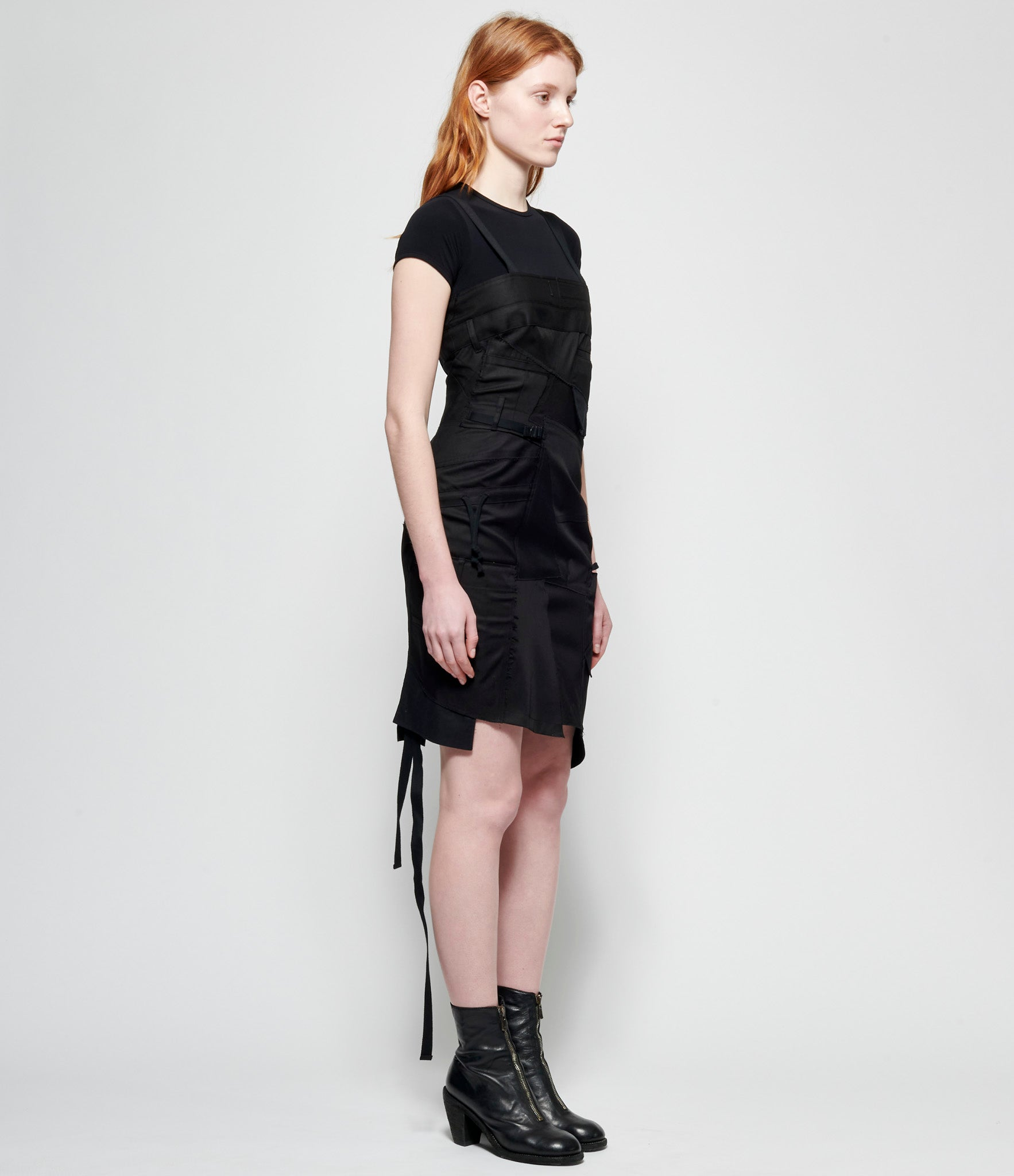 Junya Watanabe Cotton Nylon Twill x Cotton Cold Mercerized Weapon Dress